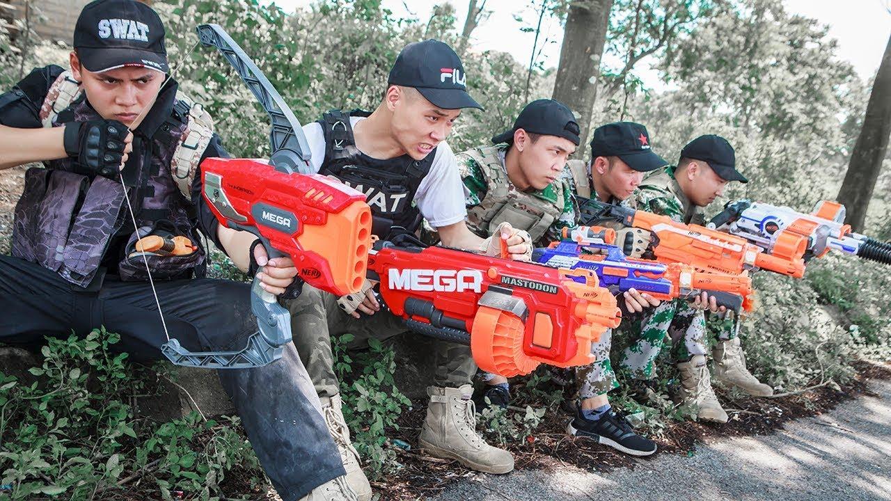 Download LTT Nerf War : SEAL X Warriors Nerf Guns Fight Attack Criminal Group Skills Mega Nerf Guns
