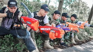 LTT Nerf War : SEAL X Warriors Nerf Guns Fight Attack Criminal Group Skills Mega Nerf Guns