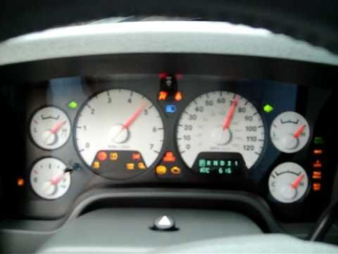 Running A Gauge Check On 2008 Dodge Ram 1500 Hemi