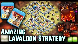 Amazing TH12 LaVaLoon Attack Strategy 3 Stars - Smash New War Base TH12 ( Clash of Clans )