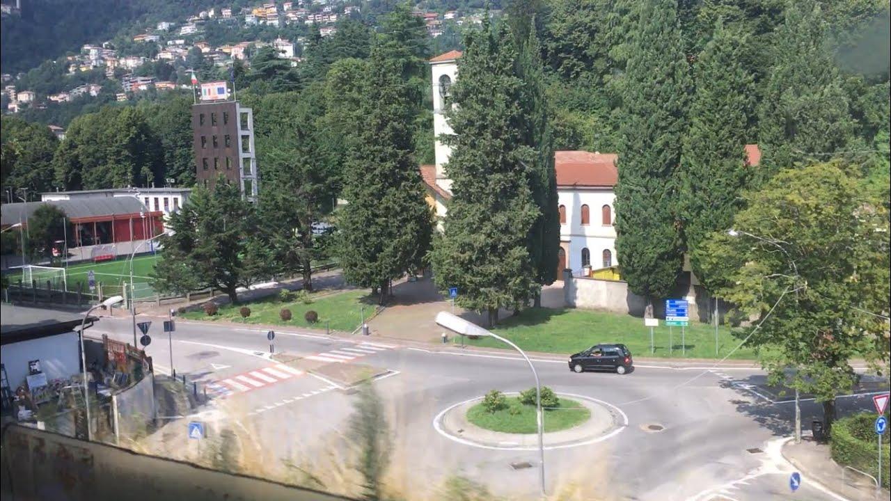 পাহাড়ের বুকে ট্রেন চলছে 🚄 সাথে আমরাও 😁😁Travel vlog 🤗 ITALY 🇮🇹