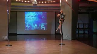 Инна Черкасова - Catwalk Dance Fest IX[pole dance, aerial]  12.05.18.