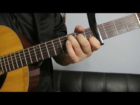 "The Weeknd - ""False Alarm"" How to Play Guitar (Easy!! Guitar Tutorial!!)"