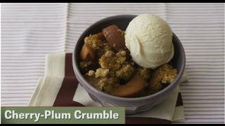 Desserts in a Snap Cherry Plum Crumble Thumbnail