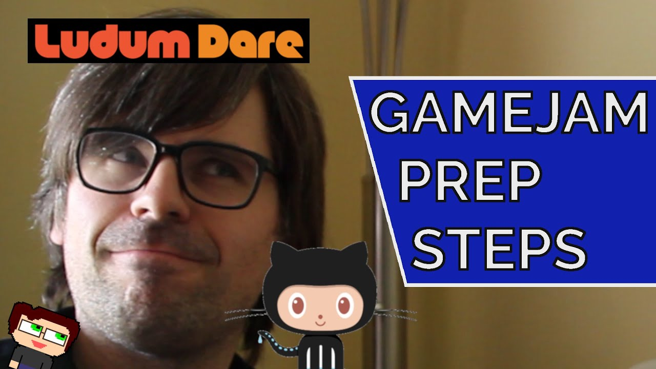 Thumbnail images for Gamejam Prep Steps | How To Get Ready to Jam Out, GameDev Style! video