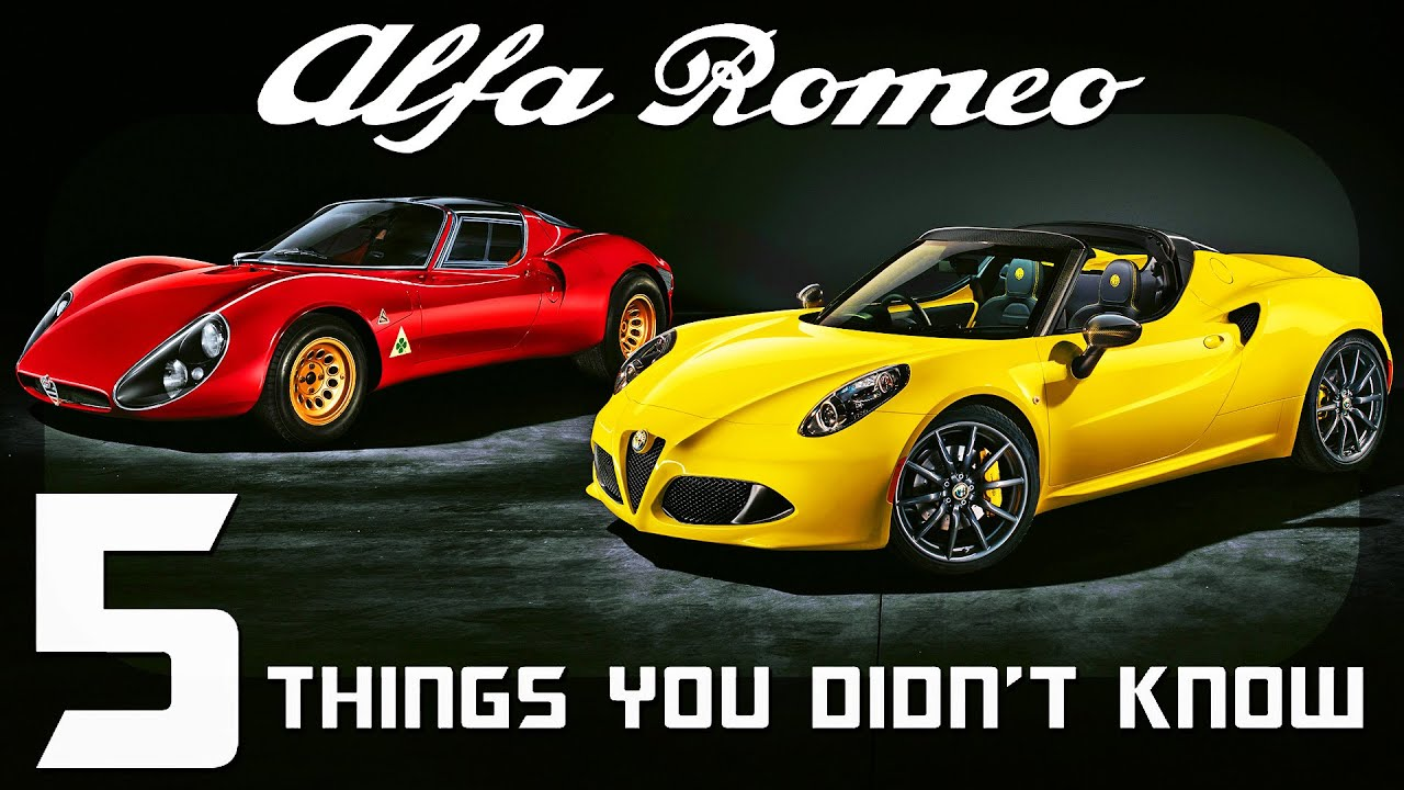 Download 5 Things You Didn't Know About Alfa Romeo