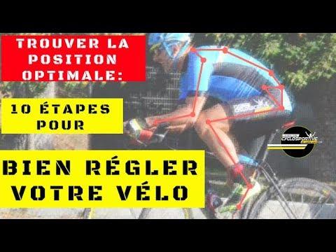 Position optimal, 10 étapes pour bien régler sa position sur le vélo