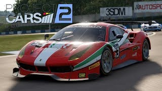 Project CARS 2 - Ferrari 488 GT3 - Donington Park (WIP)