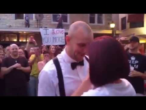 Flash Mob Proposal In Downtown Bradenton Last Night Congrats Dara