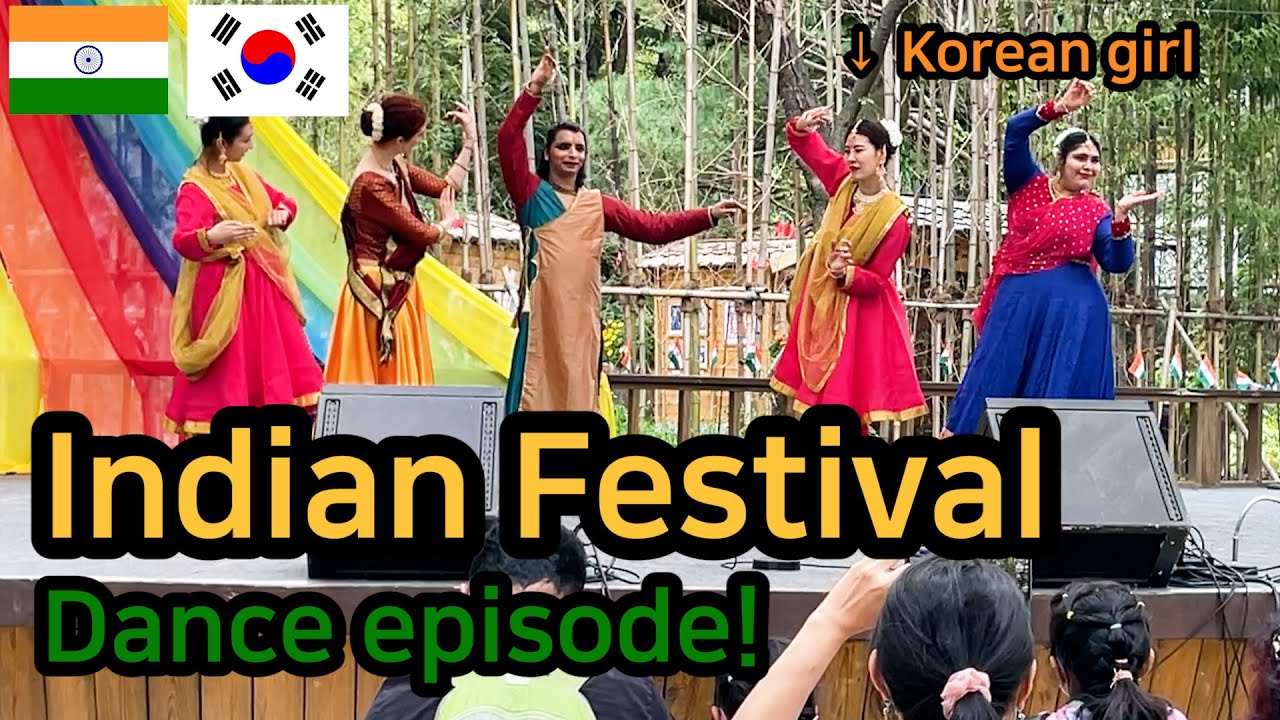 [Sub Eng] [Ep2] Everyone enjoys Indian dance 😎 | Indian Festival held in Korea😆