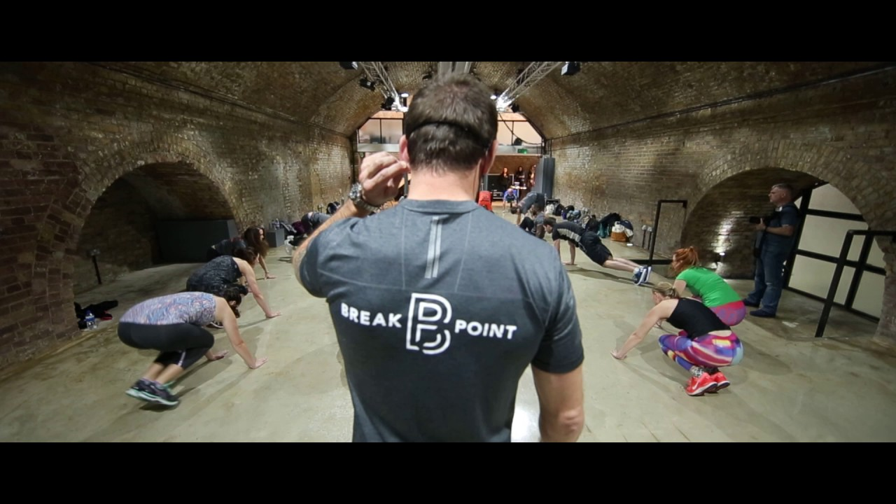 Move for Movember with Break Point UK - a #BattleReady Workout