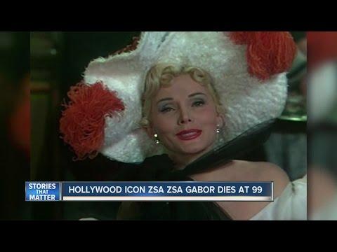 Zsa Zsa Gabor Dead At 99