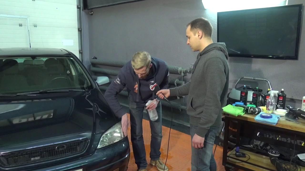 Ekspert Radzi Jak Wypolerowc Reflektor W Samochodzie Radio Katowice 12 04 17 Youtube