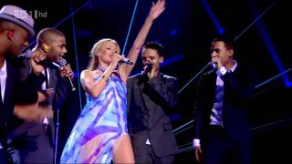 Kylie Minogue & JLS - All The Lovers HD (live in This is JLS, December 2010)