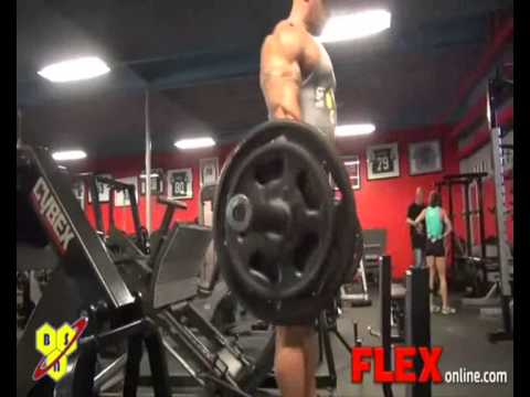 Guy Cisternino Leg Workout 2 Weeks from Olympia