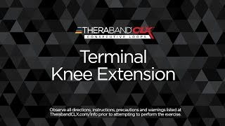 Terminal Knee Extension (TKE)