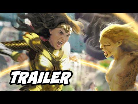 Wonder Woman 1984 Trailer - 2020 Announcement Breakdown And Wonder Woman Easter Eggs