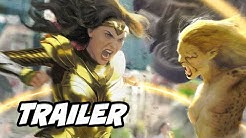 Wonder Woman 1984 Trailer - 2020 Announcement Breakdown and Wonder Woman Easter Eggs