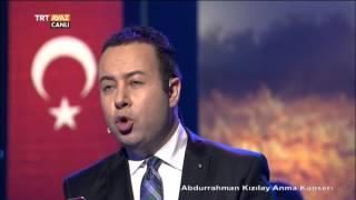 Abdurrahman Kızılay'ı Anma Gecesi'nde Levent Kol Söylüyor - TRT Avaz