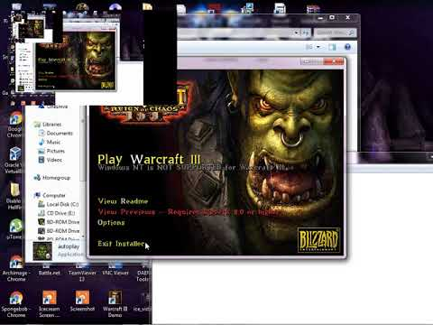 How to install WarCraft 3 Reign Of Chaos Easily Maybe? (torrent file)