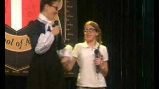 Laura Esquivel Canta Con Natalia Oreiro