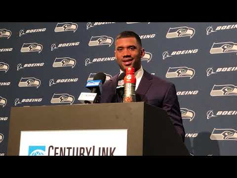 """Russell Wilson: Seahawks """"found a way,"""" says he decided him running was way to beat SF late"""