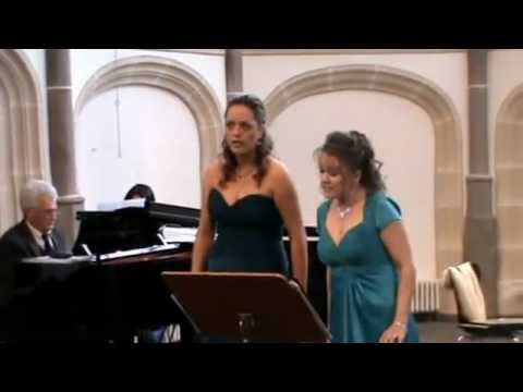 "Duett ""El Desdichado"" - C.Saint-Saens. Nadja Knop  & Katja Becker"