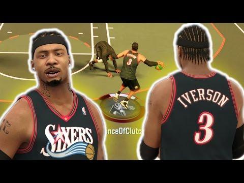 ALLEN IVERSON KILLER CROSSOVERS | ANKLE BREAKERS NBA 2K17
