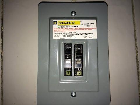 Como conectar un centro de carga monofasico INSTALACIONES ELECTRICAS