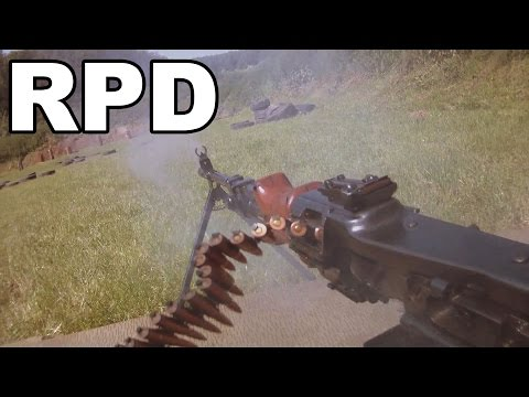 Full auto RPD Belt fed Machine gun.