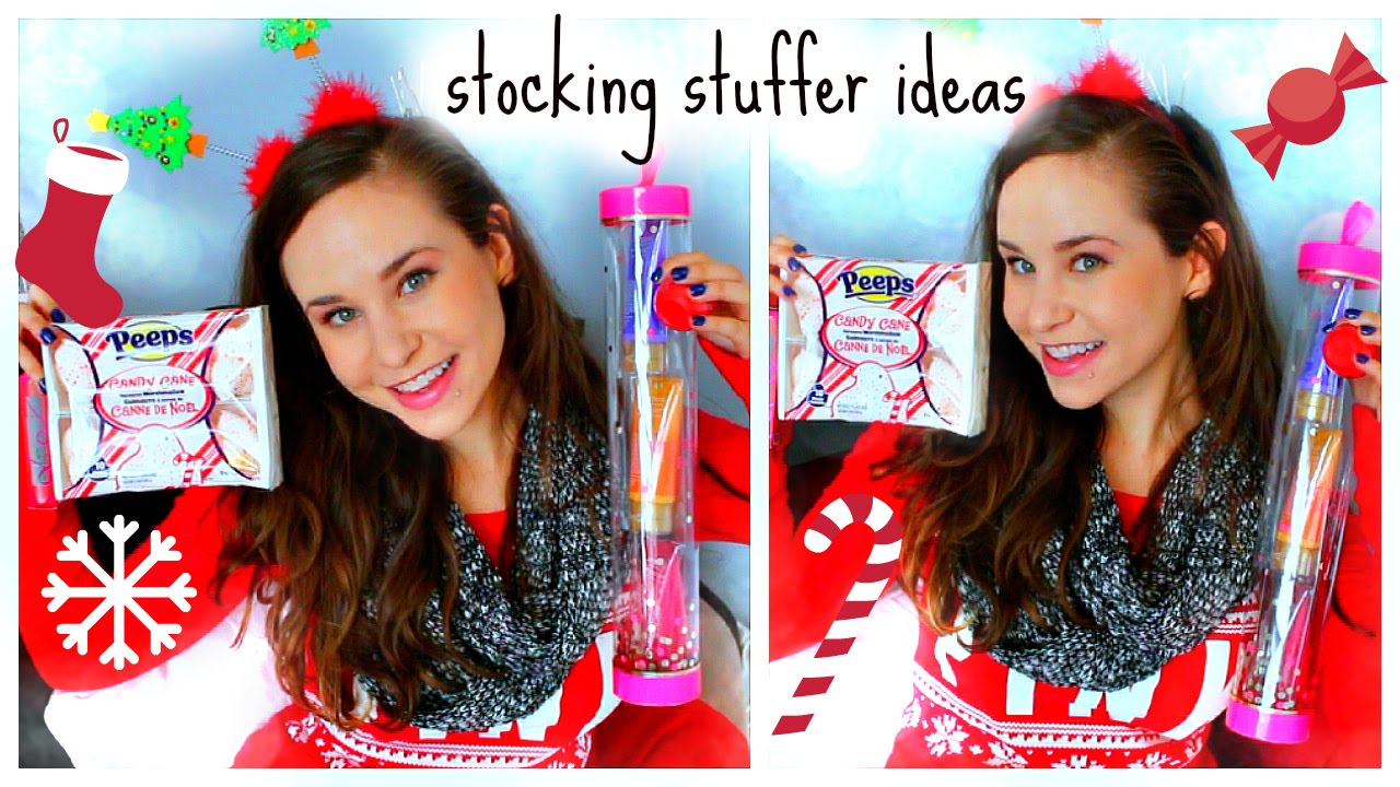 Stocking stuffer ideas cheap christmas gift ideas youtube for Christmas present ideas on a budget