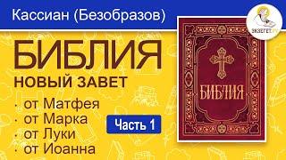 БИБЛИЯ. Новый Завет. Евангелие. Перевод епископа Кассиана (Безобразова). Часть 1.