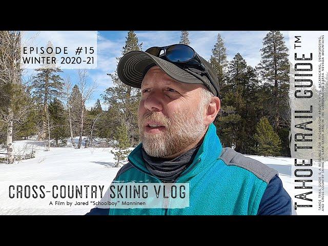 Outdoor VLOG 15: Skate Skiing on Spring Crust