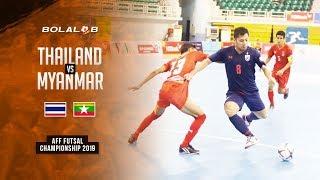 Thailand (9) vs (0) Myanmar - AFF Futsal Championship 2019