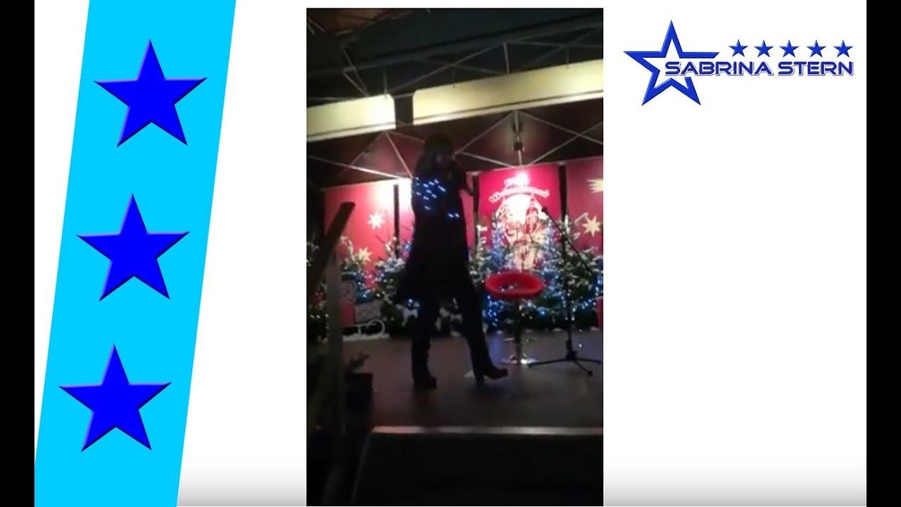 Melle Weihnachtsmarkt.Fanvideo Sabrina Stern Live Auf Dem Meller Weihnachtsmarkt 2018