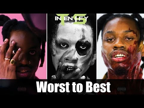 "Worst To Best - Denzel Curry ""TA13OO"" Ranked"