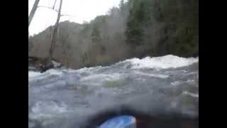 two mile kayak run filmed from liquid logic remix xp 9 little river abovetownsend tn part 1