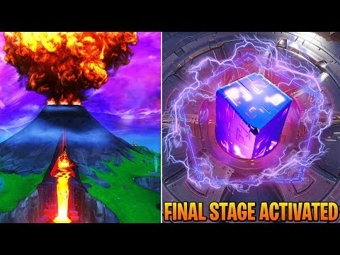 FORTNITE VOLCANO EVENT HAPPENING NOW! LOOT LAKE FINAL RUNE ACTIVATED! (Fortnite Battle Royale Live)