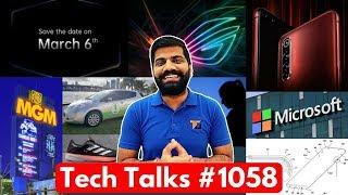 Tech Talks #1058 - Realme X50 Pro 5G 50,000Rs, ROG Phone 3, Microsoft Antivirus, Google Webpass
