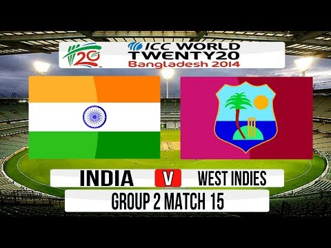 Cricket Game ICC T20 World Cup 2014 Super 8  India v West Indies Group 2 Match 15