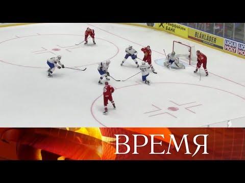 Смотрите на Первом канале следующий матч сборной России по хоккею с командой Чехии.