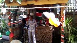 Githinji singing Msichana Wa Elimu by Daudi Kabaka