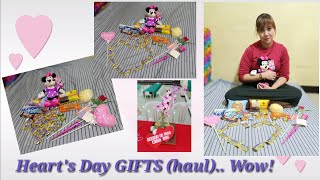 Heart's Day Gifts  (haul) Wow. Thank You.😍😘 Vlog #6