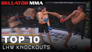 Top 10 Light Heavyweight Finishes | Bellator MMA
