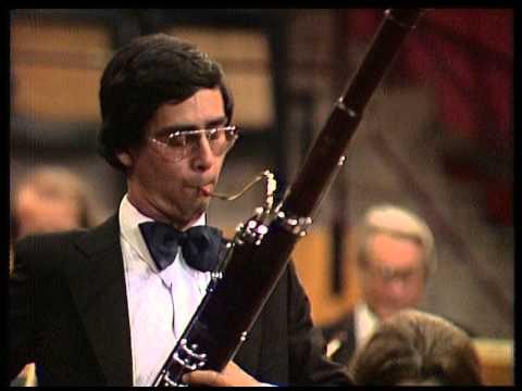 Concours de Genève - Gilbert Audin, 1er Prix Basson 1980