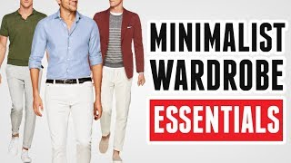 7 Minimalist Wardrobe Essentials (Smart Shopping Tips To Only Buy Clothing You Need)