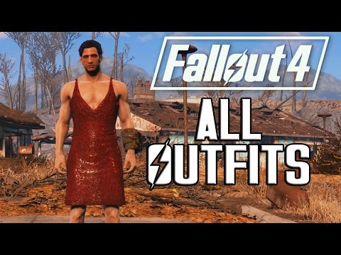 FALLOUT 4 - ALL OUTFITS & CLOTHING!
