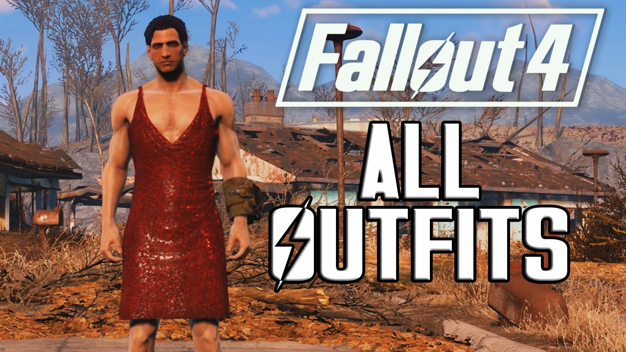 FALLOUT 6 - ALL OUTFITS & CLOTHING!