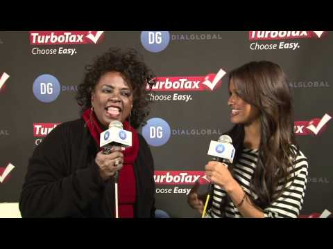 Betty Wright (Nominee) Interview Grammys 2012 -- TurboTax GR
