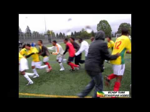 Ethiopian Soccer Tournament Vancouver, Canada: The Winner Team Calgary Celebration